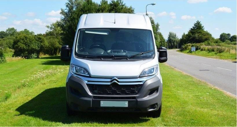 Front facing picture of David's Van Removals van.