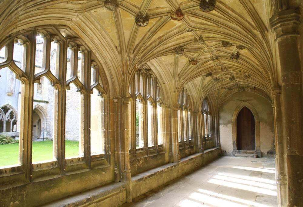 Lacock Abbey, Lacock, Chippenham, Wiltshire